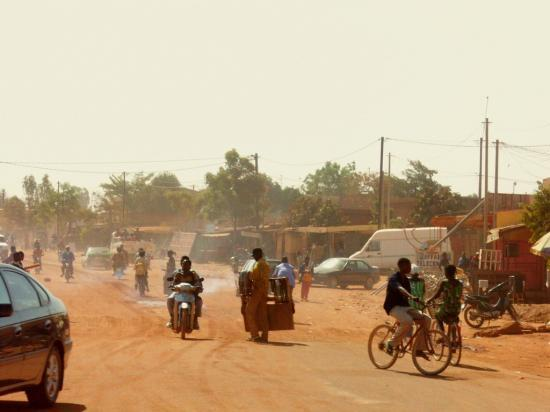 Ouagadougou 3 - Les rues...