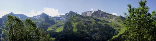 La Clusaz - Les massifs de Balme et de l'Aiguille
