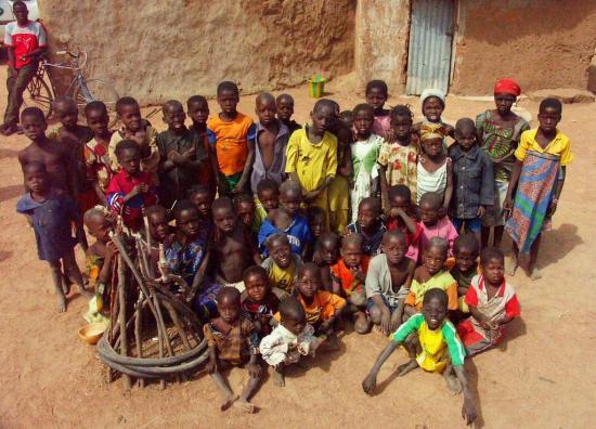 Diabiga - Les enfants du village de Tampandia
